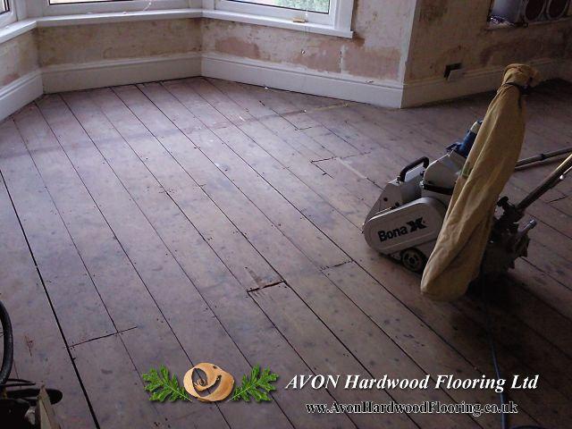 Floor sanding in Bristol