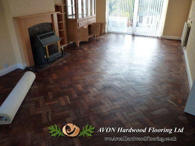 Parquet floor fitting in Bristol