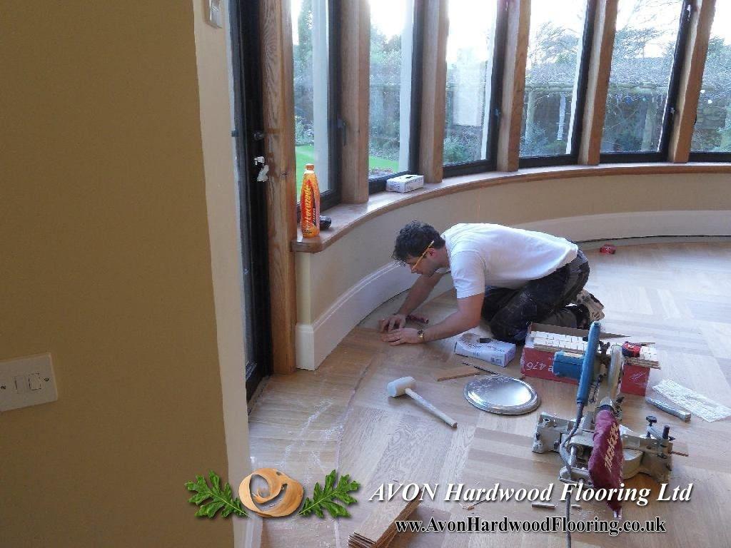 Wooden floor measuring