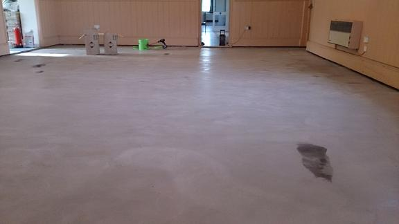 Vilige Hall.Supply and Fit Latex compan leveling