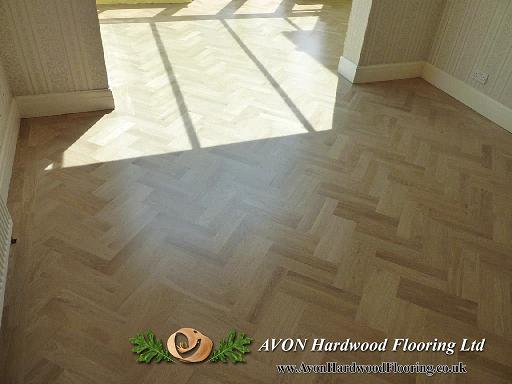 Wooden floor heating